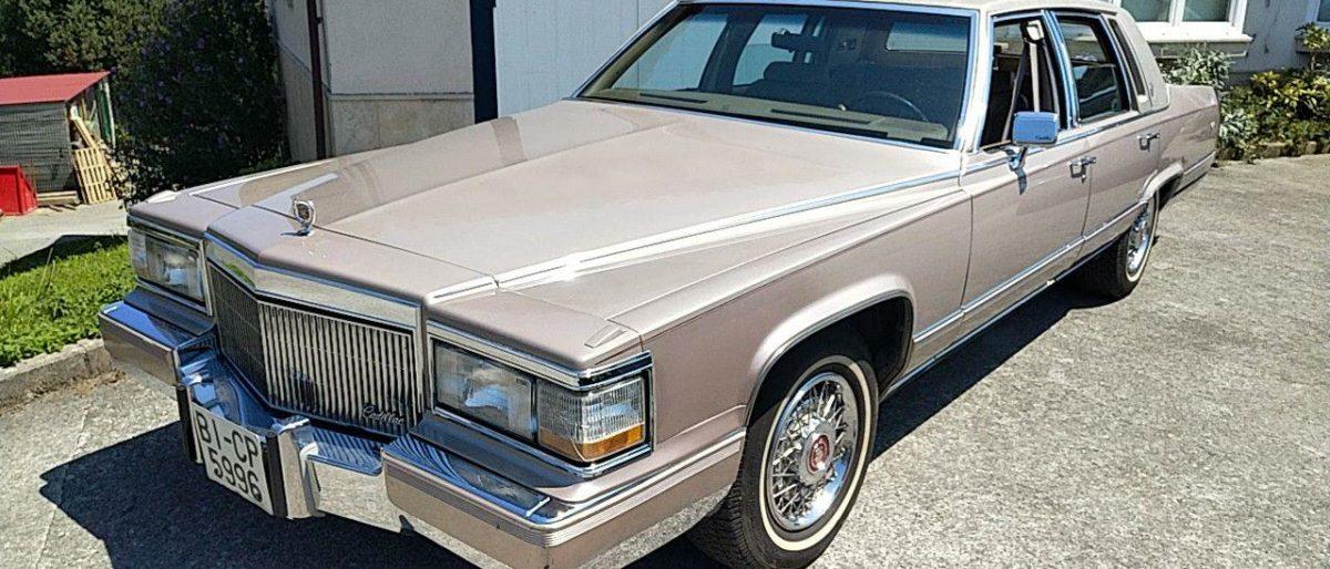Enlace permanente a:Cadillac Fleetwood Brougham 1991