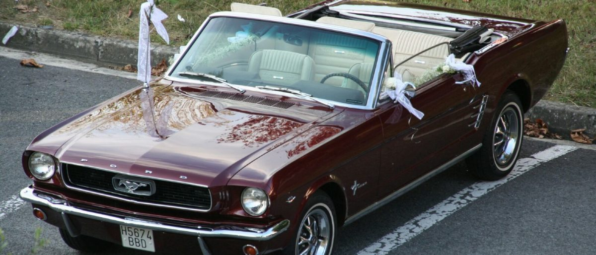 Enlace permanente a:Alquila un Ford Mustang 1966